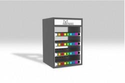 PR14 Présentoir distributeur gris