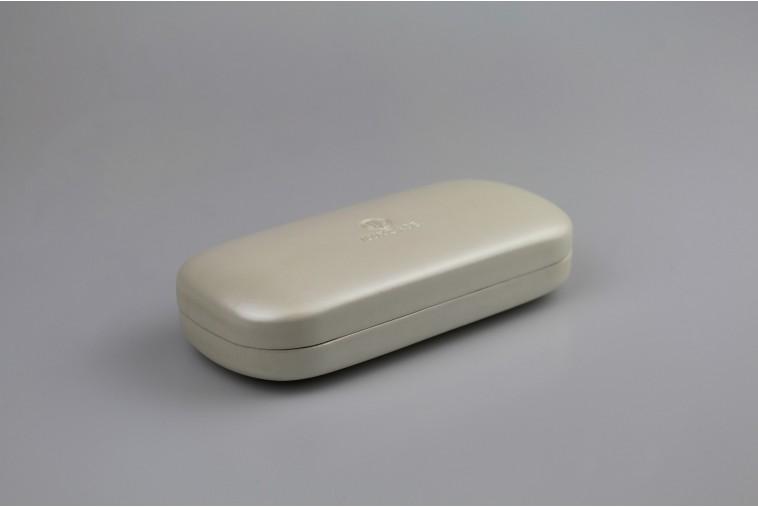 SH6108 Étui à lunettes blanc brillant