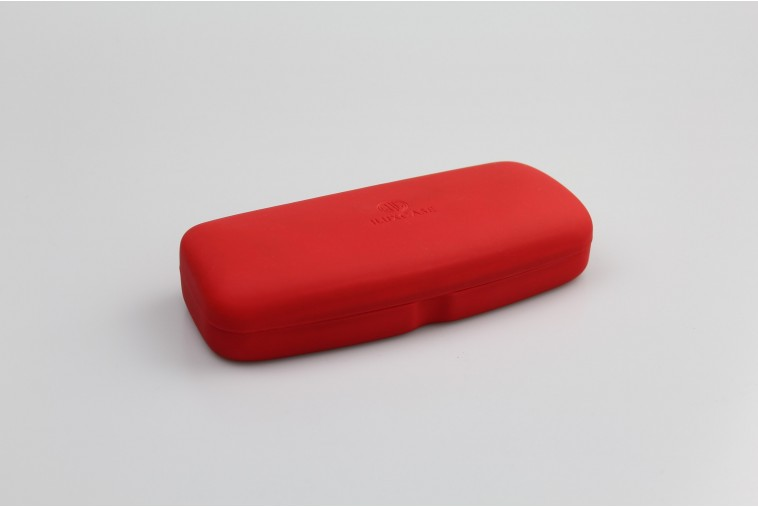 SH6208-2 Étui à lunette rigide rouge