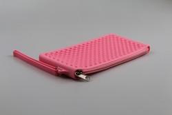 KE5168 Étui lunettes silicone rose
