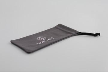 APOU-03 Étui à lunettes microfibre gris anthracite