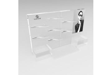 PR5 Présentoir rectangulaire transparent