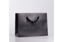SL2608 Sac papier luxe rectangulaire noir
