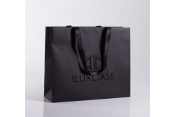 SL2617 Sac papier luxe noir