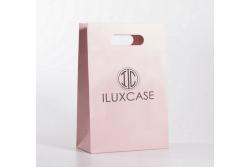 SL2630 Sac papier luxe rose pâle