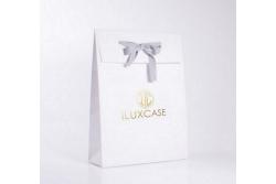 SL2631 Pochette cadeau papier luxe blanc