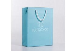 SL2633 Sac papier luxe bleu