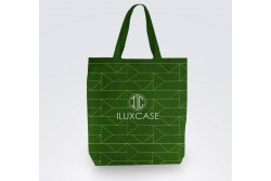 SC1817 Tote bag coton sergé vert