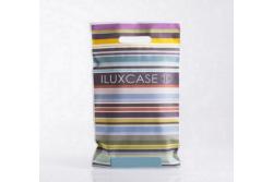 SP2801 Sac plastique motifs multicolores