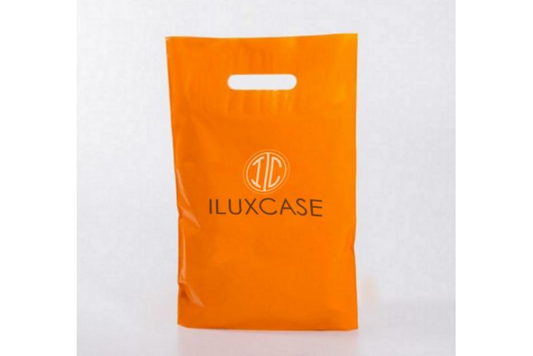 SP2804 Sac plastique orange