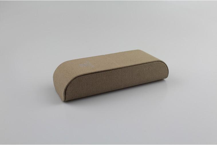 SH8103 Étui à lunettes en tissu beige