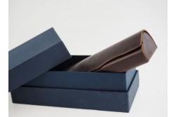 BOX-18 Boîte bleu en carton fermeture cloche