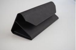 SH8077 Étui pour lunettes pliable origami gris