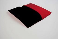 CER8702 Étui pour lunettes semi rigide rouge