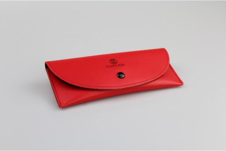 KE5305 Étui à lunettes souple rouge