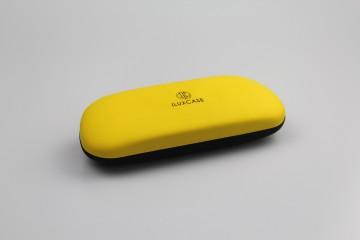 SH6073  Étui à lunettes jaune et noir