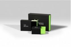 BOX9 Boîte fourreau verte et noire