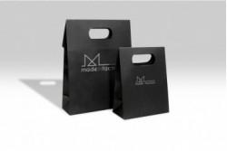 SL20 Sac boîte papier luxe noir