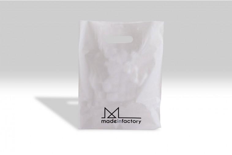 SP4 Sac plastique blanc mat