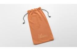 PB15 Pochon en coton orange