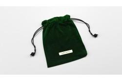 PB18 Pochon en velours vert